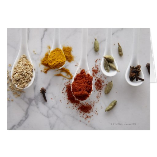 Ayurvedic Warming Spices Cards