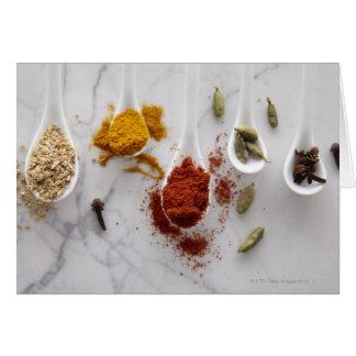 Ayurvedic Warming Spices Greeting Card
