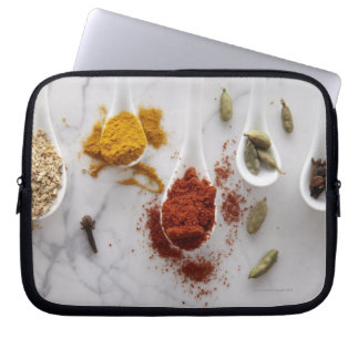 Ayurvedic Warming Spices Laptop Sleeves