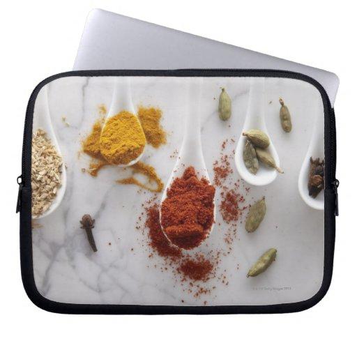 Ayurvedic Warming Spices Laptop Sleeves