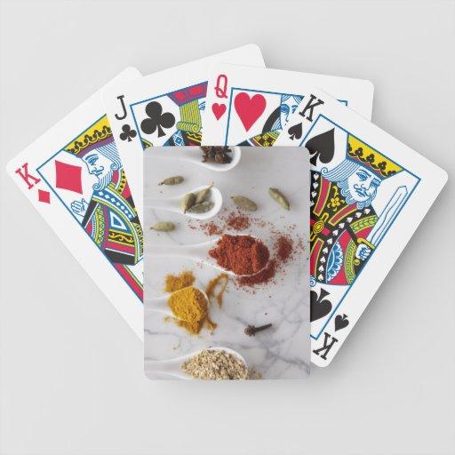 Ayurvedic Warming Spices Bicycle Card Deck
