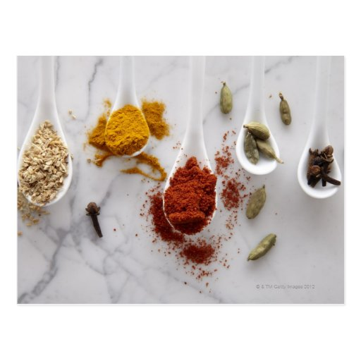 Ayurvedic Warming Spices Post Card