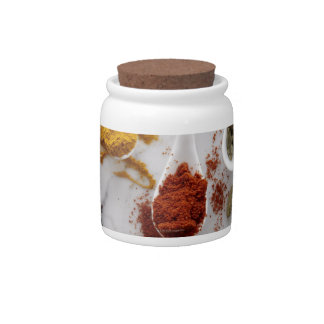 Ayurvedic Warming Spices Candy Jars