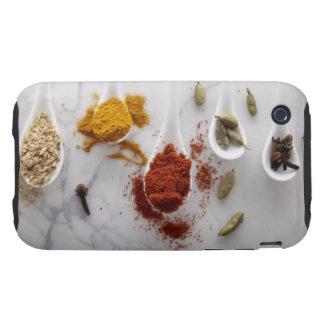 Ayurvedic Warming Spices Tough iPhone 3 Case