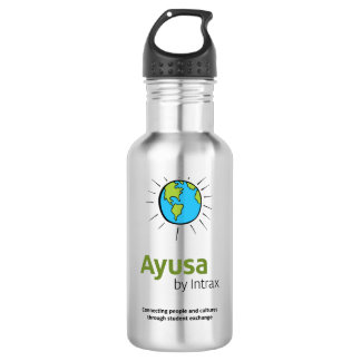 Ayusa Water Bottle (18 oz), Stainless Steel 532 Ml Water Bottle