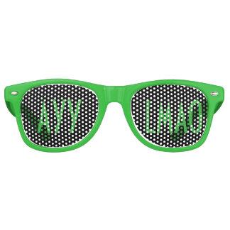 Ayy Lmao Alien Text Glasses