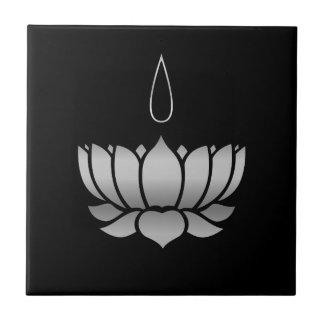 Ayyavazhi Religion-lotus carrying namam Tile