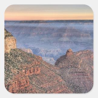 AZ, Arizona, Grand Canyon National Park, South 2 Square Sticker