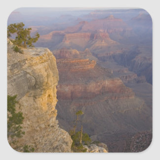 AZ, Arizona, Grand Canyon National Park, South 7 Square Sticker