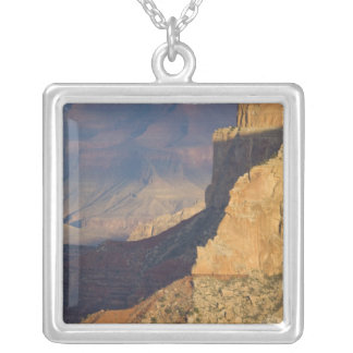 AZ, Arizona, Grand Canyon National Park, South 8 Silver Plated Necklace