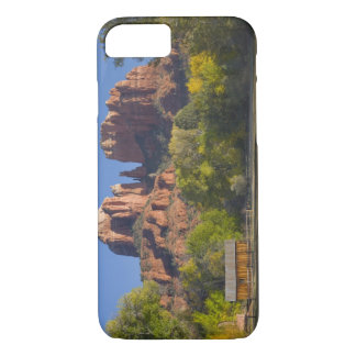 AZ, Arizona, Sedona, Crescent Moon Recreation 2 iPhone 8/7 Case