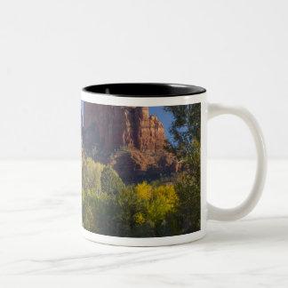 AZ, Arizona, Sedona, Crescent Moon Recreation 2 Two-Tone Coffee Mug