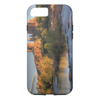 AZ, Arizona, Sedona, Crescent Moon Recreation 3 iPhone 8/7 Case