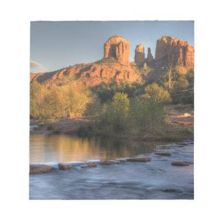 AZ, Arizona, Sedona, Crescent Moon Recreation 3 Notepad
