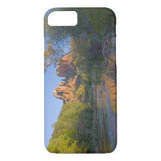 AZ, Arizona, Sedona, Crescent Moon Recreation iPhone 8/7 Case