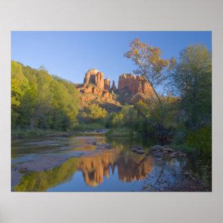 AZ, Arizona, Sedona, Crescent Moon Recreation Poster