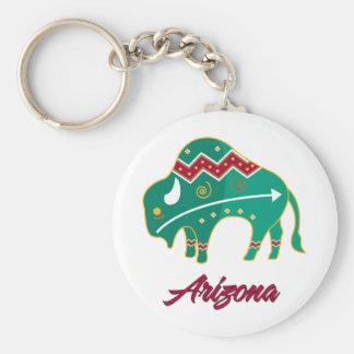 AZ Buffalo Clan 2 Key Ring