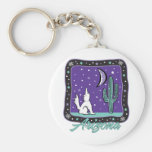 AZ-Coyote Keychains