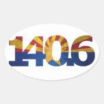 AZ Flag Long Distance Triathlon Sticker