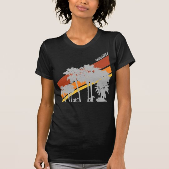 AZ Palm Grey Silouhettes T-Shirt