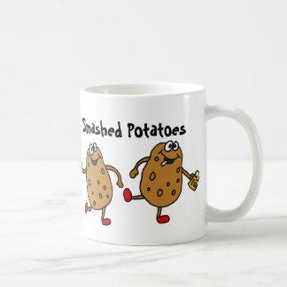 AZ- Smashed Potatoes Cartoon Coffee Mug