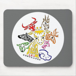 AZA Ungulates mouse pad