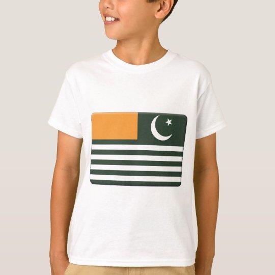 Azad Kashmir Flag PERSONALIZE T-Shirt
