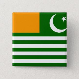 Azad Kashmir, Pakistan 15 Cm Square Badge