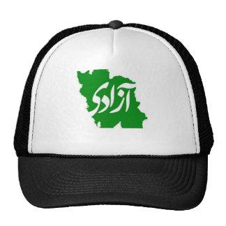 Azadi Freedom Map of Iran Truck Hat