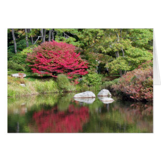 Azalea Garden Reflections Greeting Card
