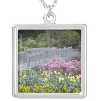 Azalea Heath Family (Ericaceae), Tulip, and Silver Plated Necklace