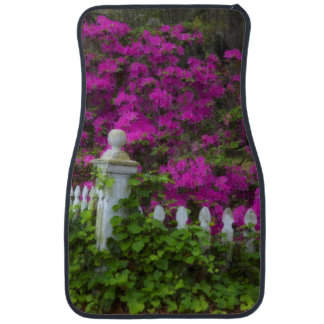 Azaleas in the spring at Historic Isle of Hope Car Mat