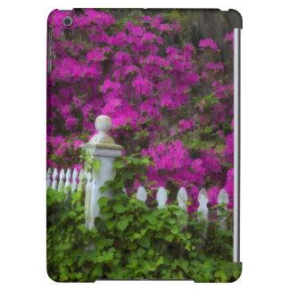 Azaleas in the spring at Historic Isle of Hope Cover For iPad Air