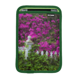 Azaleas in the spring at Historic Isle of Hope iPad Mini Sleeve