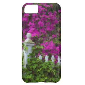 Azaleas in the spring at Historic Isle of Hope iPhone 5C Case