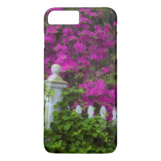 Azaleas in the spring at Historic Isle of Hope iPhone 8 Plus/7 Plus Case