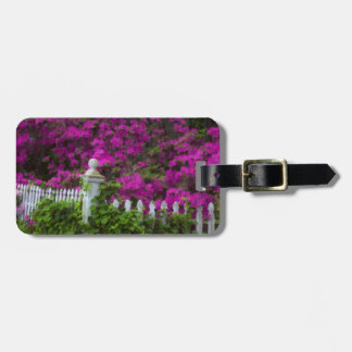 Azaleas in the spring at Historic Isle of Hope Luggage Tag