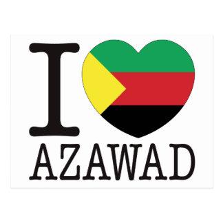 Azawad Love v2 Postcard