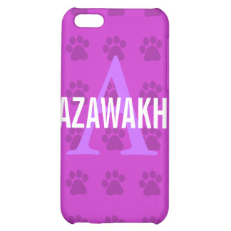 Azawakh Breed Monogram Cover For iPhone 5C
