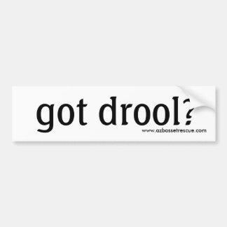 AZBHR got drool? Bumper Sticker