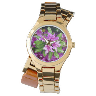 Azelia Gold Wrap-Around Wrist Watch