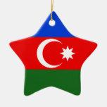 Azerbaijan Christmas Tree Ornament