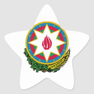 Azerbaijan Coat of Arms Stickers