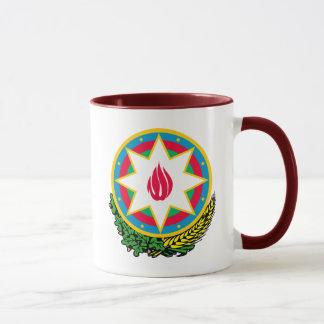 azerbaijan emblem mug