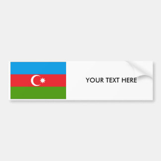 Azerbaijan FLAG Bumper Sticker