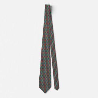 Azerbaijan Flag Honeycomb Tie