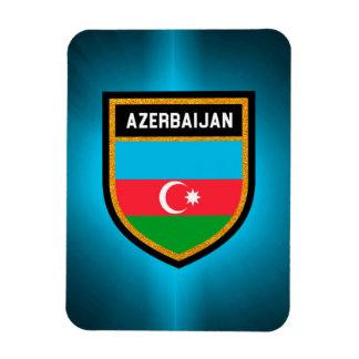 Azerbaijan Flag Magnet
