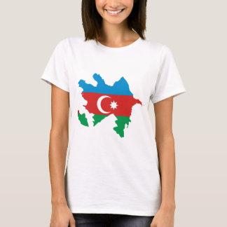 Azerbaijan Flag map AZ T-Shirt