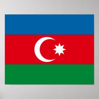 Azerbaijan Flag Posters