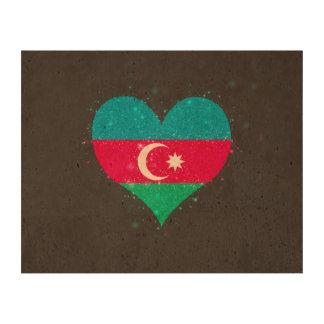 Azerbaijan Flag Shining Unique Queork Photo Prints